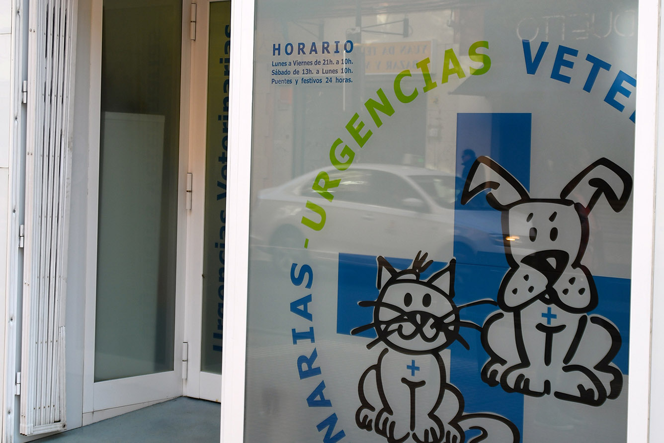 Entrada URGENCIAS VETERINARIAS ZARAGOZA